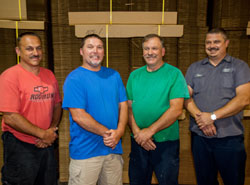 Bo Riley, Clint Solomon, Robert Collins, Mike Portrum